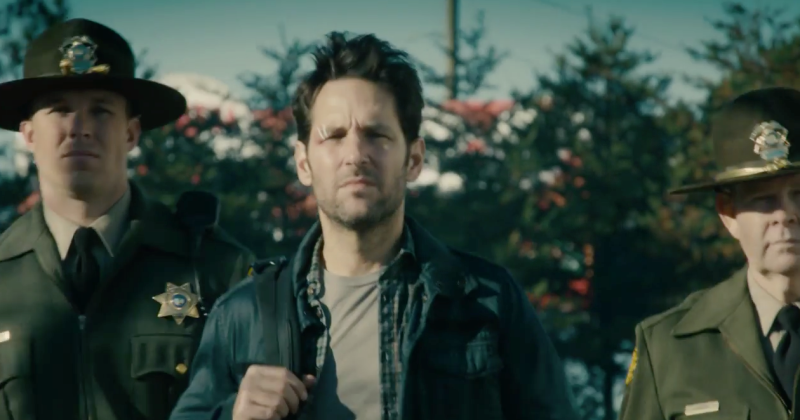 """Halloween 6"" star Paul Rudd in the trailer for the trailer for ""Ant-Man."""