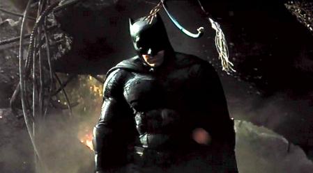 Batman revealed.