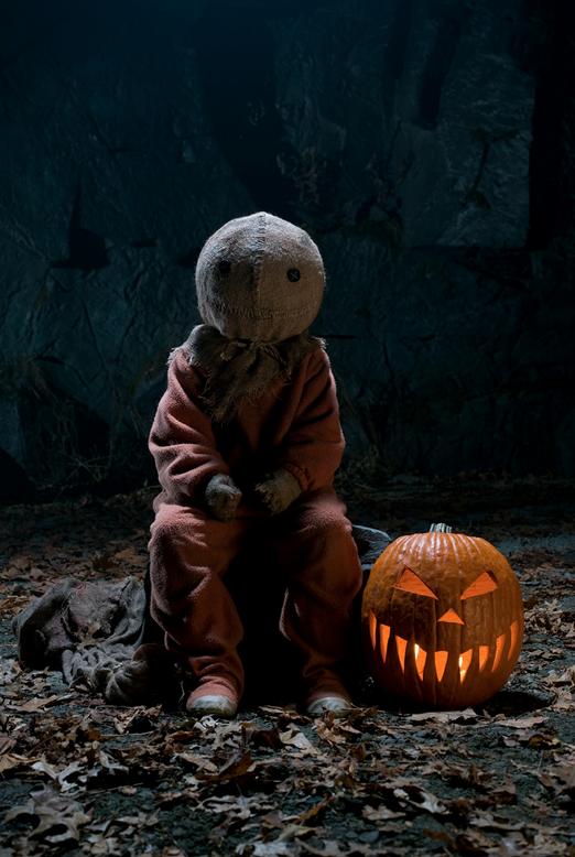 sam trick r treat happy halloween