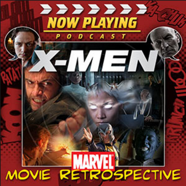 "Screen art for Now Playing's ""X-Men"" retrospective."
