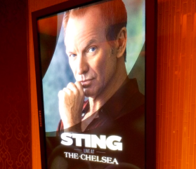 Sting performs at the Cosmopolitan of Las Vegas