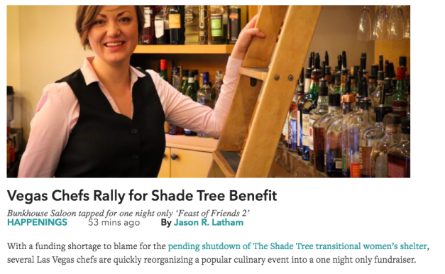 Vegas Chefs Rally for Shade Tree Benefit by Jason R Latham