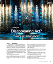 Criss Angel's Disappearing Act? in Vegas Seven magazine
