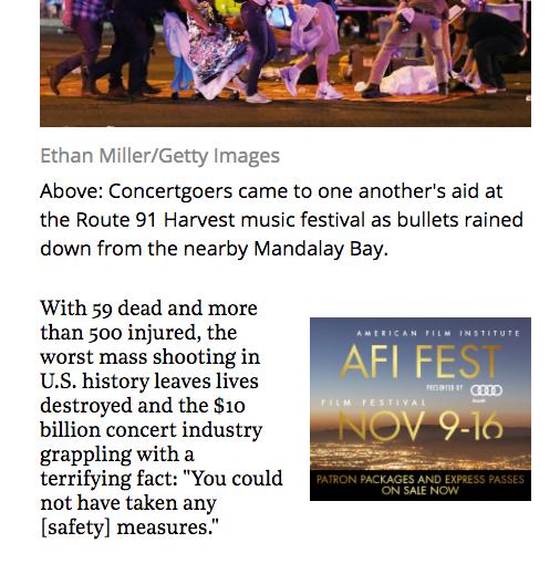 Las Vegas, concert industry wonder 'Whatnow?'