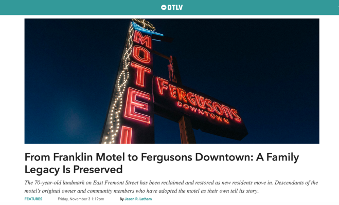 An Oral History of Fergusons Motel on DTLV.com