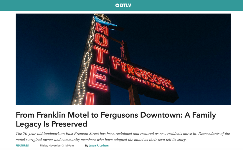 An Oral History of Fergusons Motel