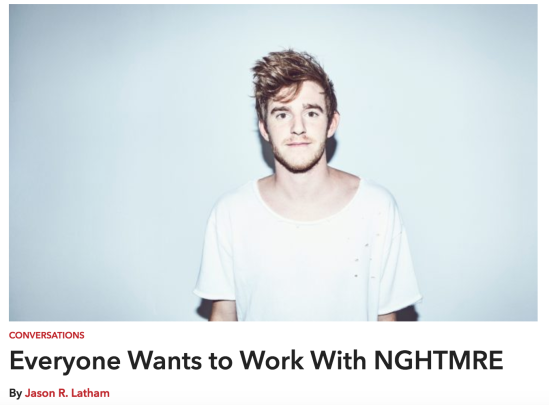 Hakkasan Group resident headliner NGHTMRE talks with Jason Latham for Vegas Seven
