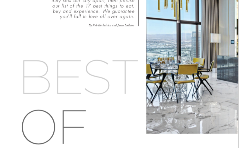 Best of the Best, Vegas Magazine Edition