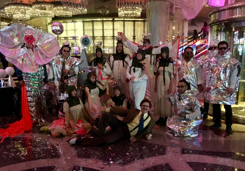 The cast of Opium arrives at The Cosmopolitan of Las Vegas
